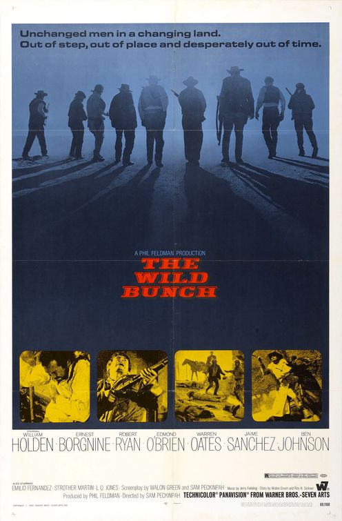 """The Wild Bunch"" - the original poster"