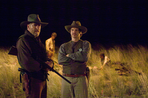 Clancy Brown and William Mapother in The Burrowers