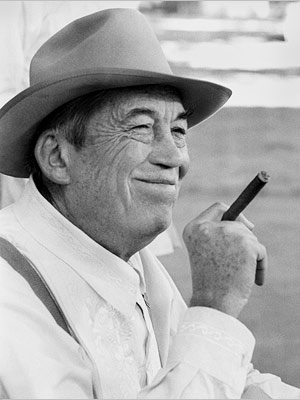 "John Huston as Noah Cross in ""Chinatown"""