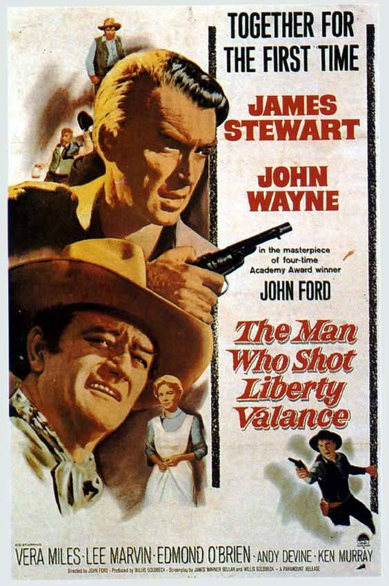 The poster that launched Liberty Valance
