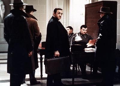 Lino ventura at Gestapo HQ