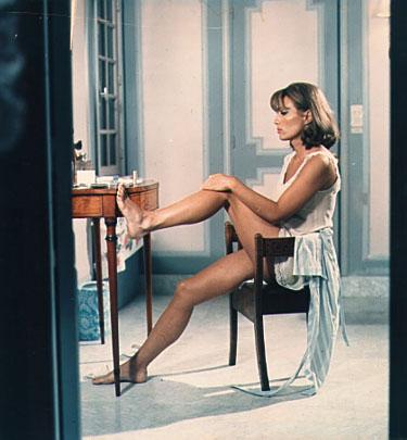 Stephane Audran in La Femme Infidele