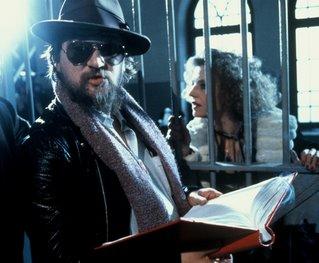 Rainer Werner Fassbinder and Hannah Schygulla