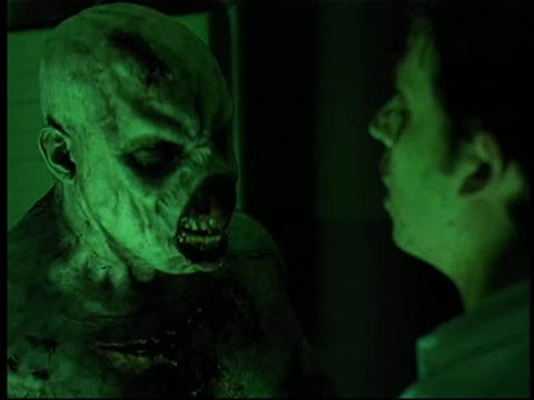 """""""The Dead Hate the Living"""" - bathed in Argento green"""
