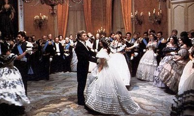 Burt Lancaster leads the dance