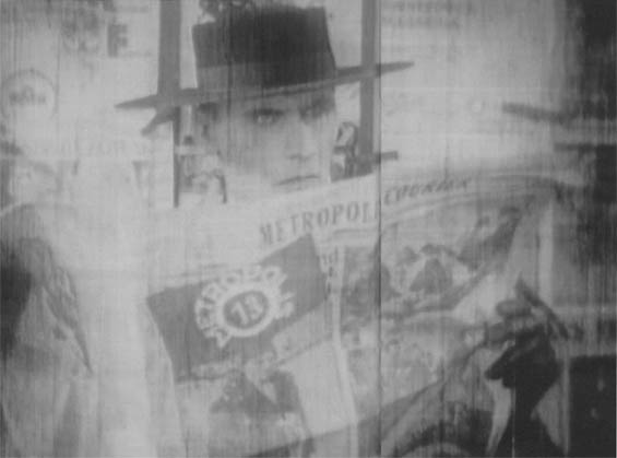 Fritz Rasp as The Thin Man: the visual state of the found footage