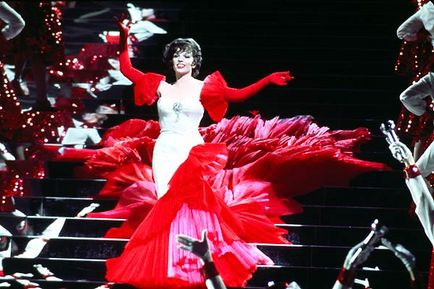 "Liza Minnelli in the ""Happy Ending"" number"