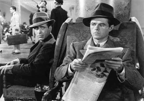 "Elisha Cook Jr. in ""The Maltese Falcon"": an indespensible man"