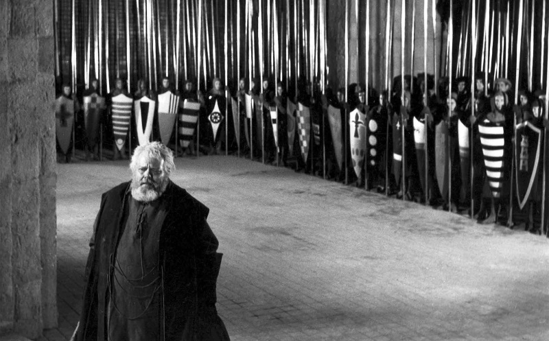 Chimes at Midnight (1965 France/Spain/Switzerland) aka Campanadas a medianoche Directed by Orson Welles Shown: Orson Welles