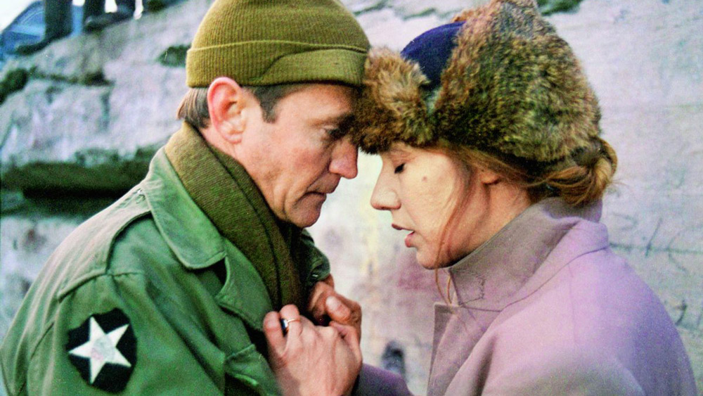 Scott Wilson and Maja Komorowska in the film by Krzysztof Zanussi