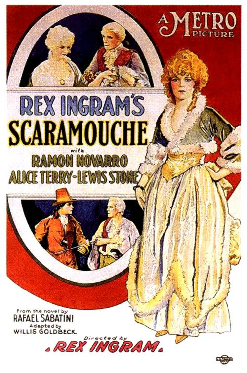 Scaramouche - a silent classic now available via DVD on Demand