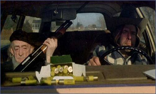 Road movie becomes crime movie