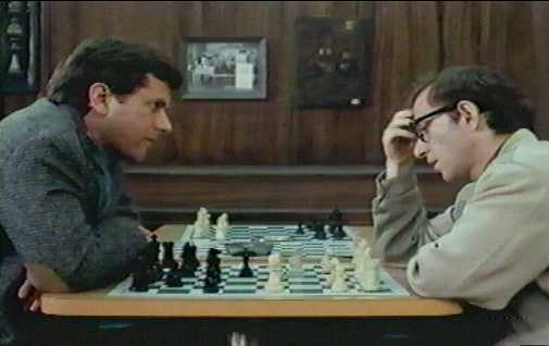 """Michael Murphy and Woody Allen in """"The Front"""""""