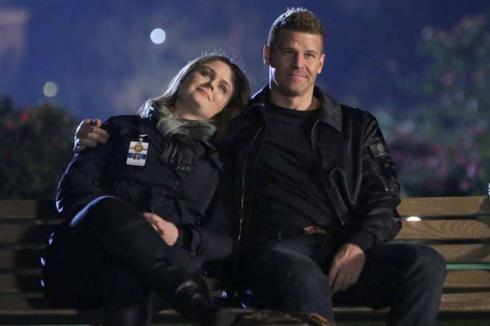 The Love Story of Bones' Booth and Brennan in 12 Episodes