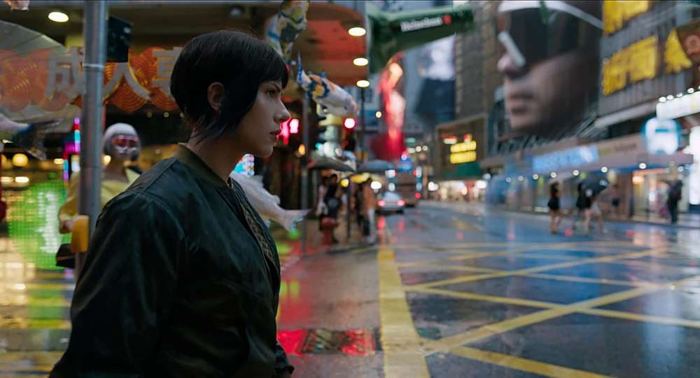 Blu-ray: Ghost in the Shell 2017