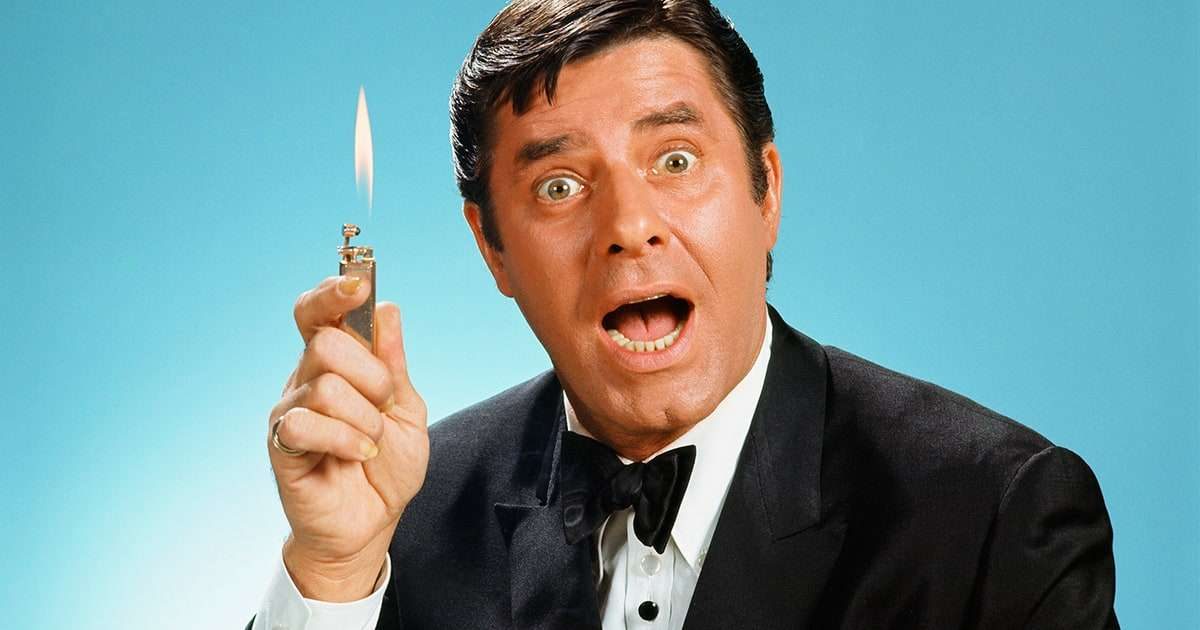How do you not find that hilarious? Celebrating Jerry Lewis