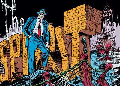 "Will Eisner, Frank Miller and ""The Spirit"""