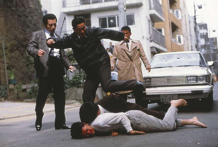 Blu-ray/DVD: Takeshi Kitano's 'Violent Cop' and 'Boiling Point'